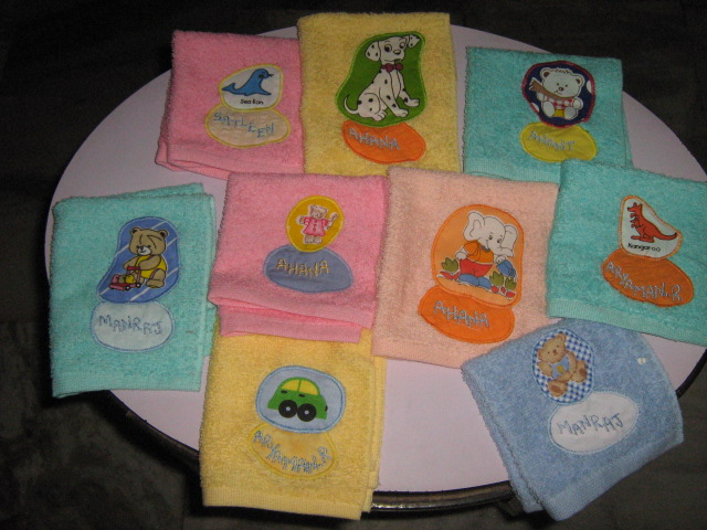 Undercoverkidsgifts home personalised napkins negle Choice Image
